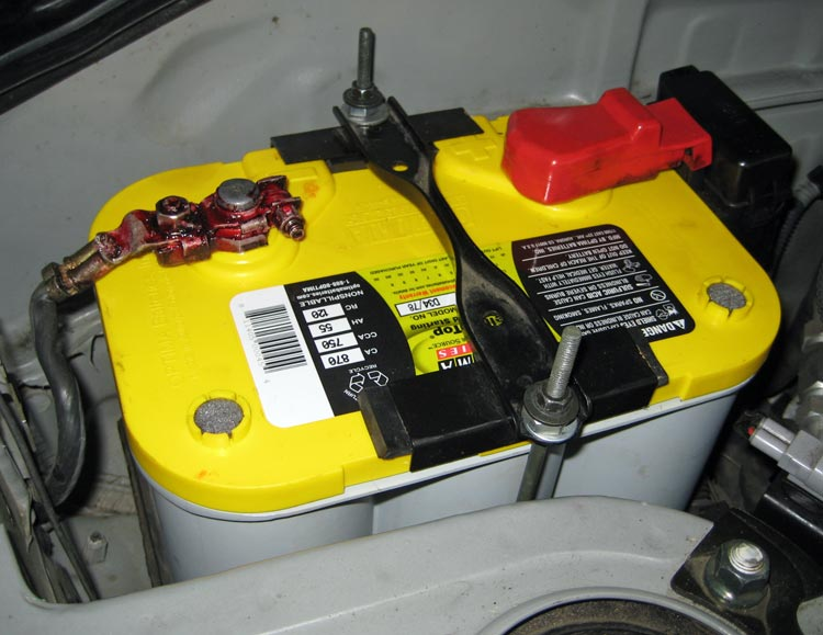 Rubber Tie Down For Car Battery